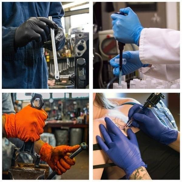 AMMEX-Nitrile-Glove-Uses