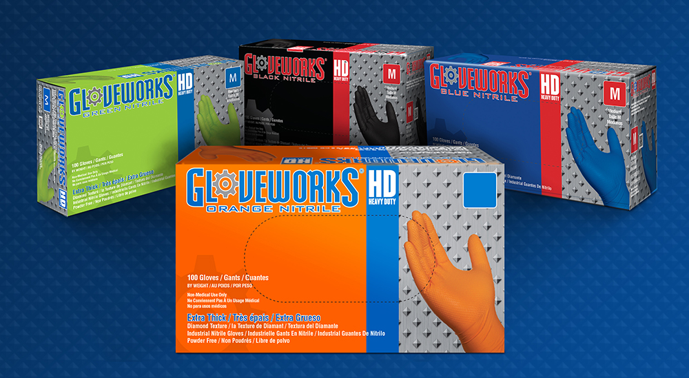 Gloveworks HD disposable gloves deliver high-margin, residual sales