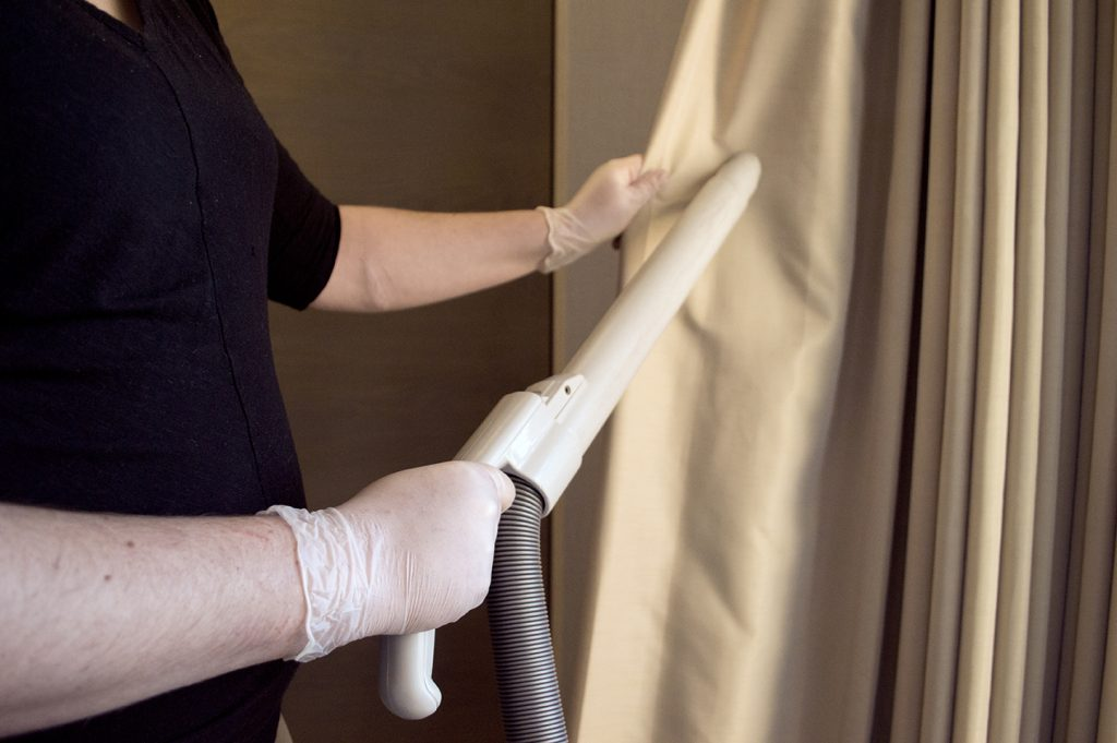 Vinyl gloves are the best solution for cleaning needs.